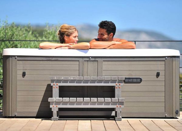 photo installations spa jacuzzi Peips 74 Les Savoies Annecy