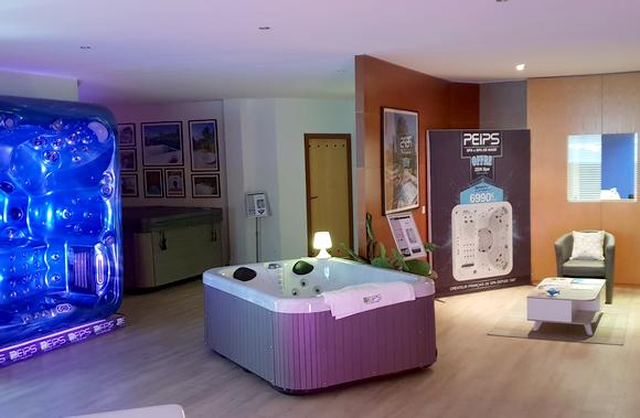 showroom magasin spa de nage Peips 74 Annecy